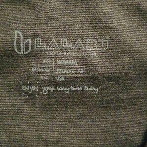 LALABU Tops - Lalabu sooth shirt simple gray grey sz Medium